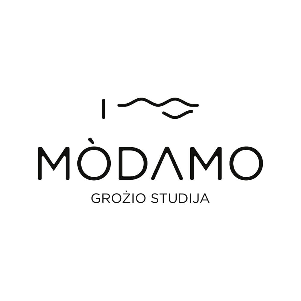 Modamo grožio studija logotipas